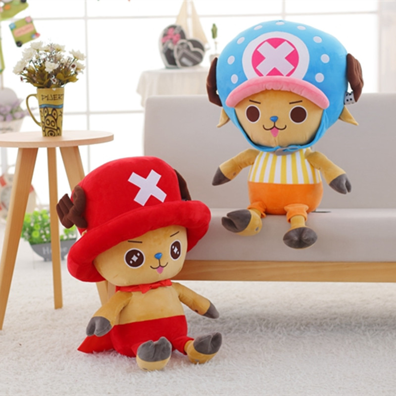 BABIQU 1pc 30cm Tony Chopper Plush Toy Movie Figure Soft Stuffed High Quality Game Cute Kawaii Lovely Gift For Children Kids