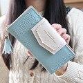 5 Color 2016 Fashion Long Purse Carteira Feminina Card  PU Handbags Card Holder  Ladies Clutch Thin Cheap Coin Purse Card Holder