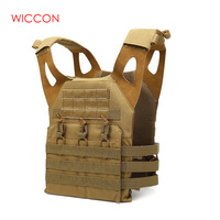 Camouflage Military Tactical Vest Body Armor Sleeveless Garment Jungle Equipment Men Army Gear