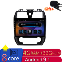 10 4G RAM 2.5D IPS 8 CORE Android 9.1 Car DVD Multimedia Player GPS GEELY Emgrand EC7 2012 2013 14 car radio stereo navigation