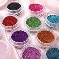 YOST Caviar Nails Art 12 Colores de Los Granos plásticos Manicuras Pedicuras Nail Art Belleza DIY