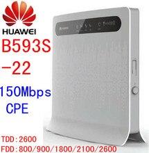 Unlocked Huawei b593 B593s 22 150Mbps 4G lte 3g CPE wifi Wireless Router 4g lte mifi