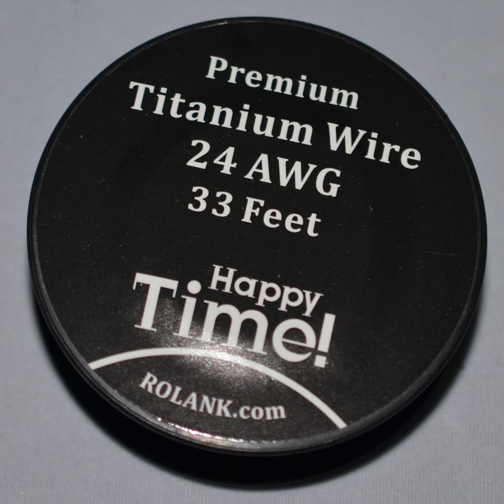 1pcs/lot) 10 Meters Super Vape Wire 0.4mm 26 Gauge Titanium Wire For ...