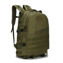 40L 3D Outdoor Tactical Military Backpack Rucksack Trekking Hiking Camping Bag Waterproof Oxford Backpacks Sport Bag