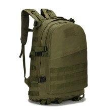 40L 3D Outdoor Tactical Military Backpack Rucksack Trekking Hiking Camping Bag Waterproof Oxford Backpacks Sport Bag for Man