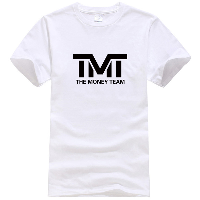 2018 New Summer TMT Print 100% Cotton Men's T-shirt Short Sleeve Summer Male Tshirts Loose Letter High Quality T Shirts