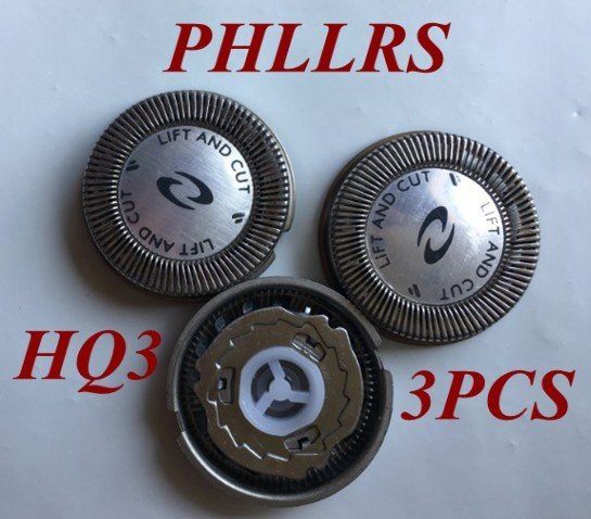 3PCS HQ3 replace head razor blade for philips hq4 hq55 hq56 electric shaver  HP1338 HP1339 HP1601 HP1602 HP1604 HP1605 HP1606 f8d0a3c425