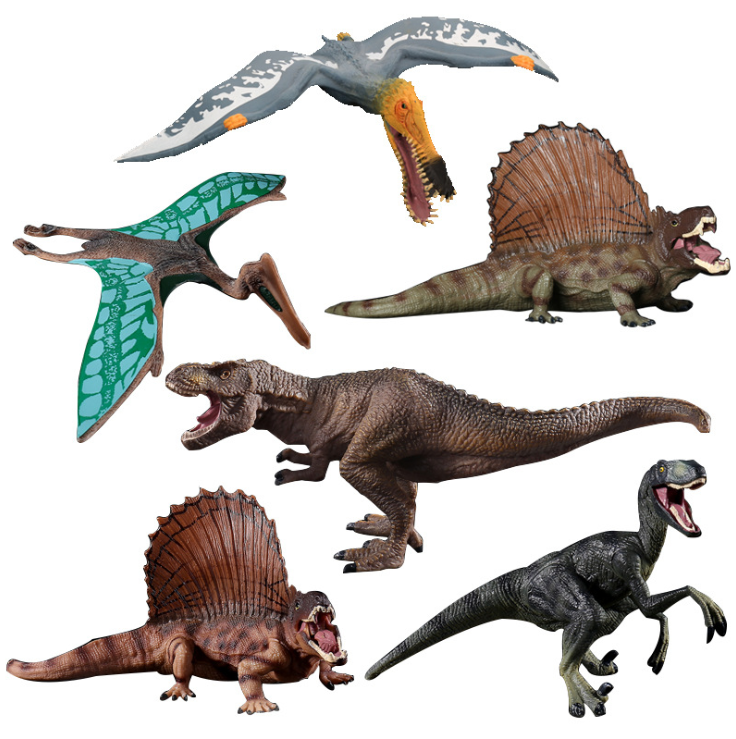 9 Stlye of Plastic Dinosaur Toy Model Anime Action Figures Jurassic park Simulation Dinosaurs Pterosaur Toys For Children Gift in Action Toy Figures from Toys Hobbies