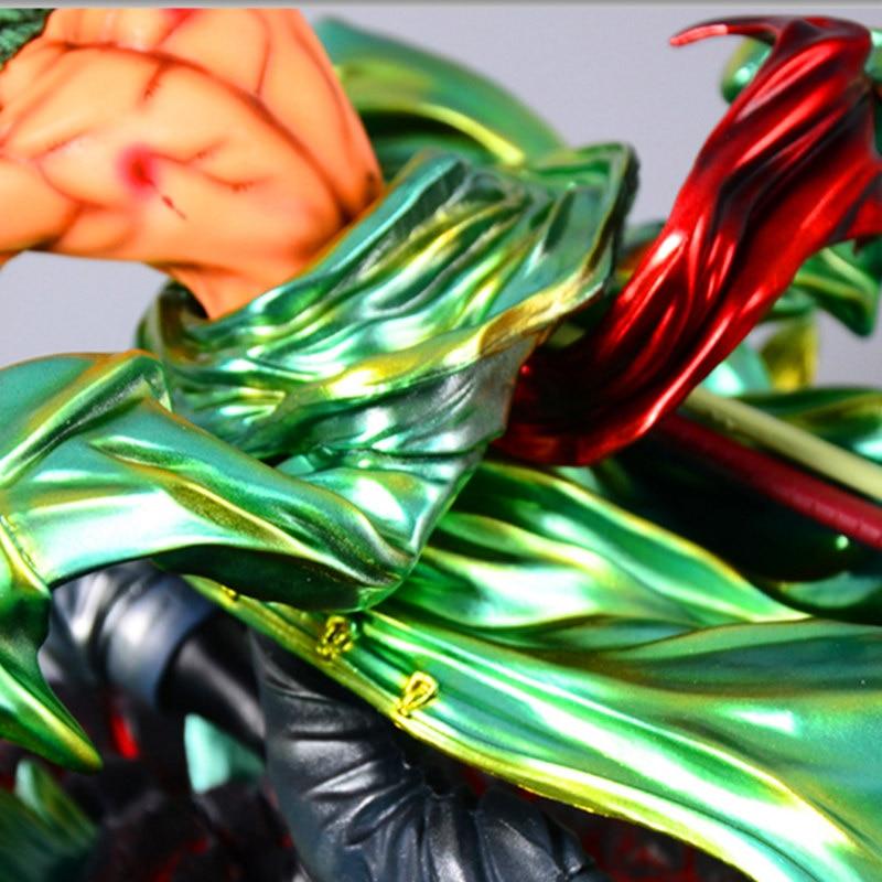 24 cm une pièce Roronoa Zoro Statue trois mille monde bataille ver Figure jouet PVC nouvelle Collection figurine Action jouets cadeau - 6