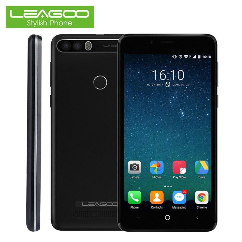 LEAGOO KIICAA питания Смартфон Android 7,0 2 + 16 ГБ 4000 мАч 5,0 дюймов 8MP двойной назад Камера отпечатков пальцев 3g сенсорный Android Сотовые телефоны