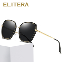 ffc8321ce ELITERA Brand Designer Fashion Polarized Sunglasses Women Men Retro Style  Vintage Frame Sun Glasses Eyewear Accessories