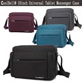 Universal 9 9.7 10.1 inch Tablet Sleeve Pouch Cover Crossbody Sling Bag for iPad Air 1 2/ Pro Case Laptop Shoulder Messenger Bag