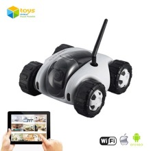 Wifi Controlled Tank Robot with Camera