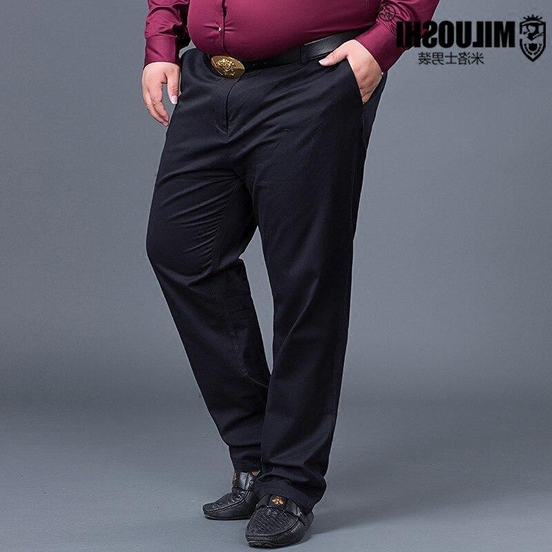 Большие размеры 10XL 9XL 8XL 6x Новое поступление мужские Повседневное Бизнес брюки стрейч брюки прямые брюки цвет: черный, синий хаки worksuit