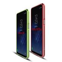 For Samsung Galaxy S8 Bumper Case Aluminum Metal Ultra Thin Cover For Samsung Galaxy S8 Plus