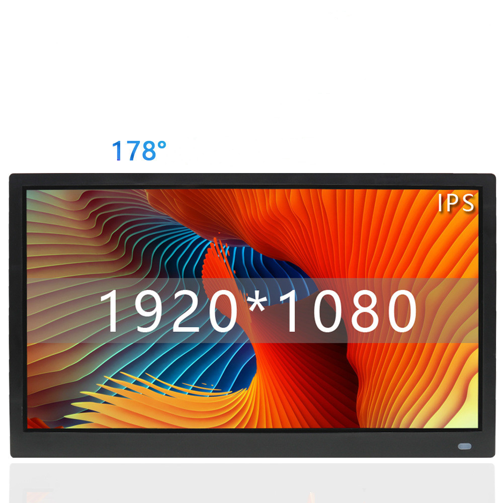 15 pulgadas de retroiluminación LED HD 1920*1080 de la función completa, marco de fotos Digital electrónica álbum digitale foto Video de música