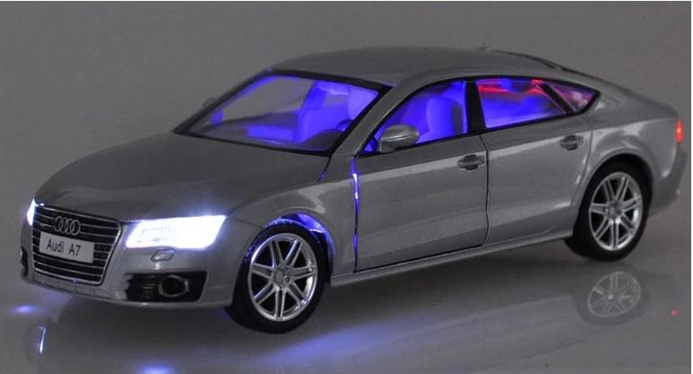 1 24 Scale Diecast Metal Alloy Luxury Sedan Car Model For Audi A7