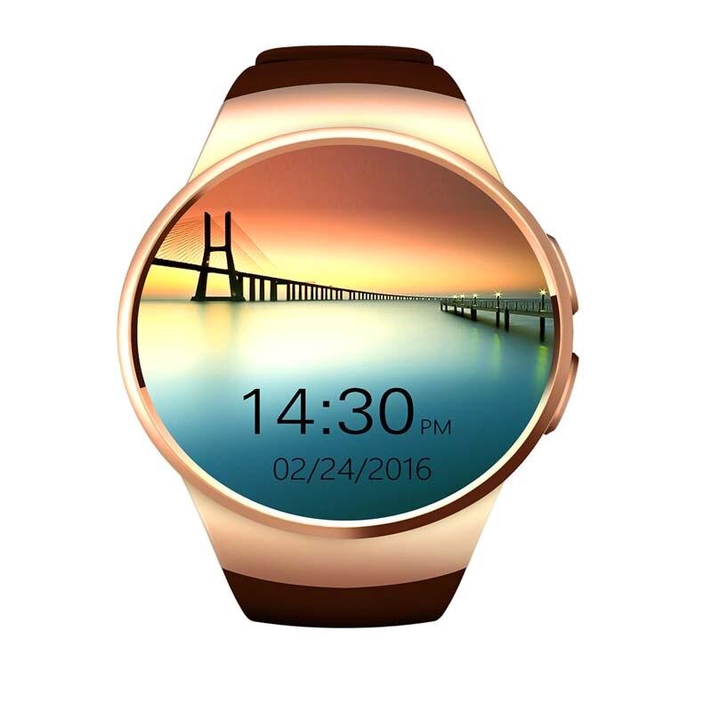 ФОТО 2017 Smartwatch KW18 For iPhone Samsung Huawei Wristwatches With SIM TF Card Heart Rate Sleep Monitor Fitness Tracker