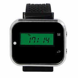 RETEKESS Wireless Call Coaster Pager System Watch Wrist Receiver For Restaurant Factory Coffee Restaurants Equipments 433MHz