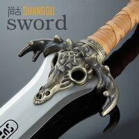 Conan the Barbarian King Father sword Excalibur sword Excalibur film is not open edge swords