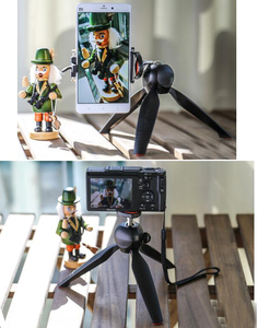 Image 5 - Photo YT 228 YUNTENG 228 Mini Tripod+Phone Holder Clip Desktop Tripod Digital Camera phone DV Gopro