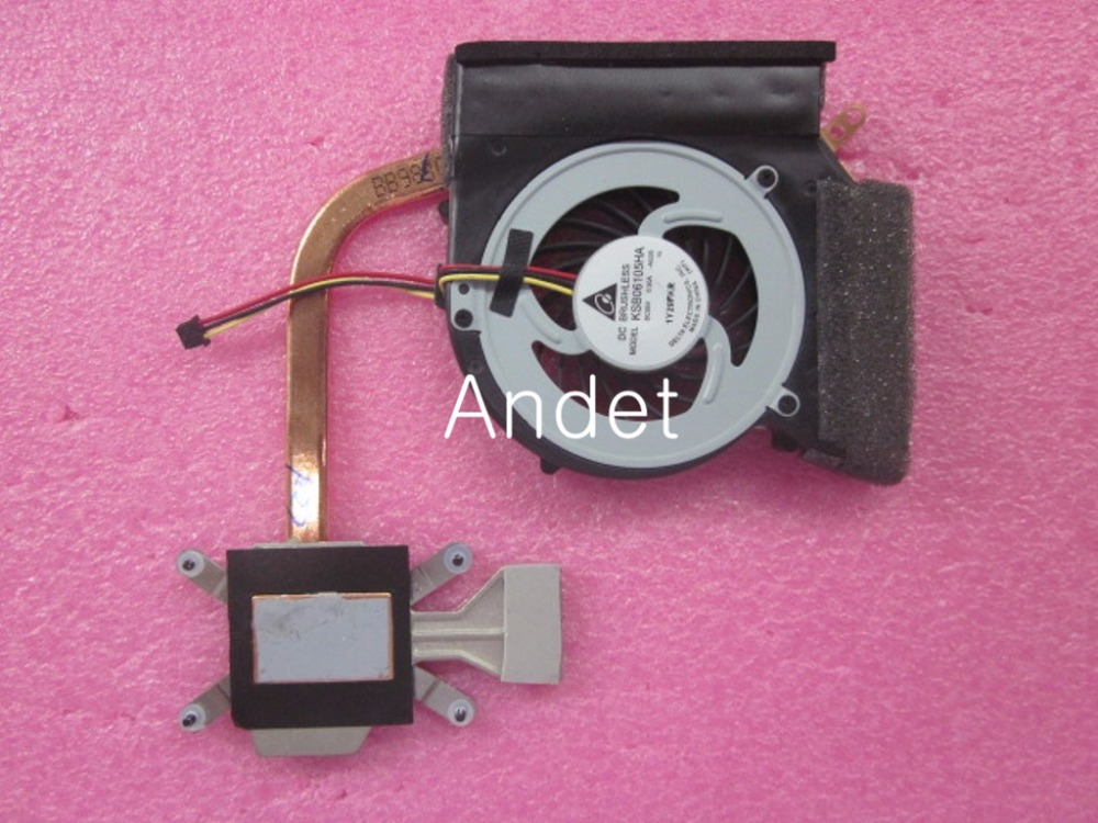 Heatsink Fan CPU Cooling For Lenovo Thinkpad Edge 14 E40 15 E50 Integrated Laptop 75Y4481 75Y4482 genuine for lenovo thinkpad yoga 14 cpu cooling fan heatsink 00hn607