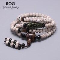 Xing Yue Bodhi Seed Rosary Beads Bracelet For Men And Women Reiki Bracelet With Nine eyed dZi Tibetan Buddhist Spiritual Jewelry