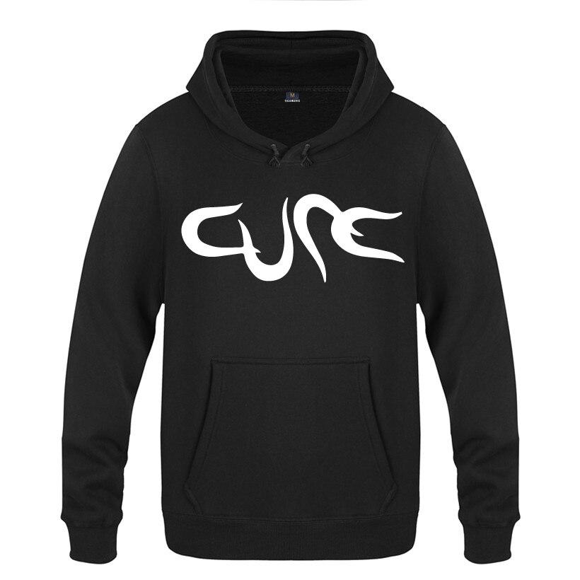 The Cure Rock Band Hoodies Men 2018 Men's Pullover Fleece Hooded Sweatshirts-in Hoodies & Sweatshirts from Men's Clothing on AliExpress - 11.11_Double 11_Singles' Day 1