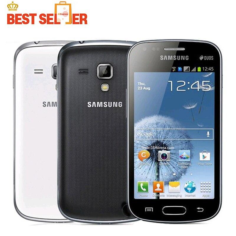 Cellphones & Telecommunications Rapture Original Unlocked Samsung Galaxy S Duos S7562 Mobile Phones Cheap 1.0ghz 4.0inch Screen 3g Wifi Gps 5mp 4gb Dual Sim Cellphone