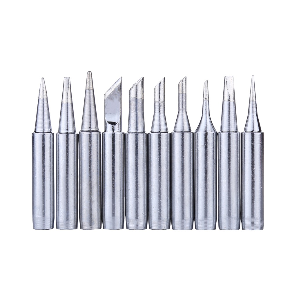 10pcs/lot 900M-T Soldering Iron Tips Lead-free Welding Sting For Hakko 936 Soldering Station