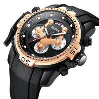 Biden Functional Men's Watches Top Brand Sport Quartz Watches For Male Wristwatch Chronograph Waterproof Watch Relogio masculino