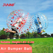 1.8m Zorb Soccer Ball PVC Wear-resistant Inflatable Bubble Football Ball for Boys Girls Adult Family Outdoor Game Ball Sport Toy inflatable football ball inflatable soccer ball game for adults and kids