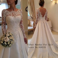Free Shipping Vintage lace backless long country style wedding dress bridal gown collection