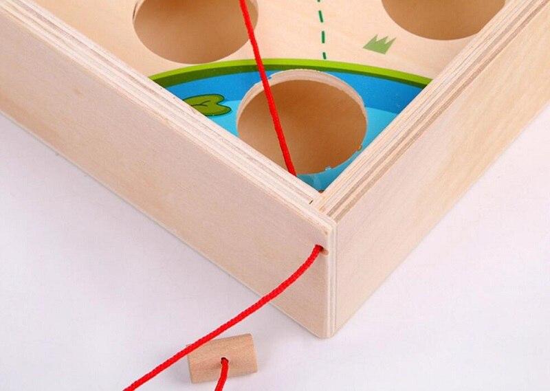 Creative Wooden Ball Maze Game 12