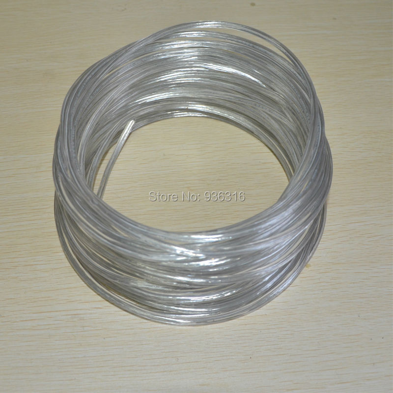 2x0.75mm2 Transparent Lamp Switch Wire Copper Conductor Electrical ...
