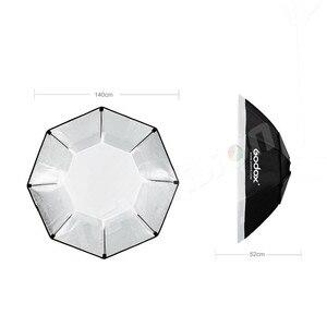 """Image 3 - Софтбокс Godox 140 см 55 """", восьмиугольник, Вспышка Speedlite, студийный светильник для фотографии, софтбокс с креплением Bowens для DE300 DE400 SK300 SK400 DP600"""