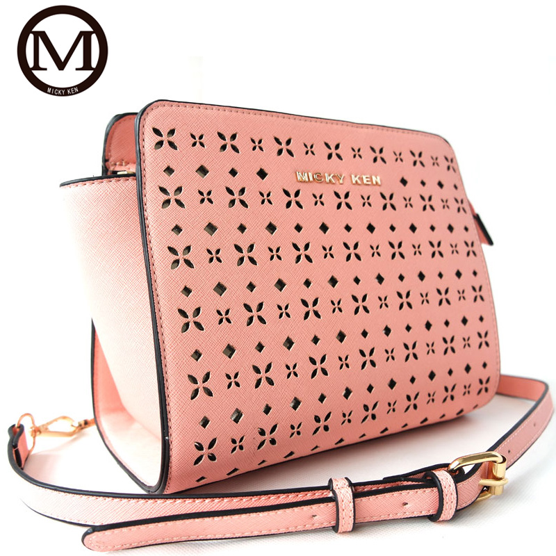 New Fashion Micky Handbag High Quality PU font b Leather b font Women Brand Designers Messenger