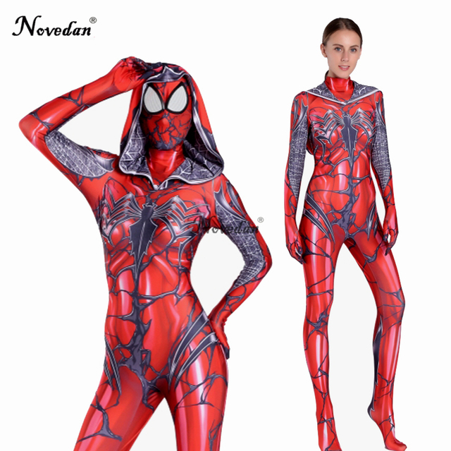 New Arrival 2018 Spider Gwen Stacy Cosplay Costume Gwendolyn Maxine Stacy  Lycra Spandex Zentai Female Women Halloween Costume 41640a84e