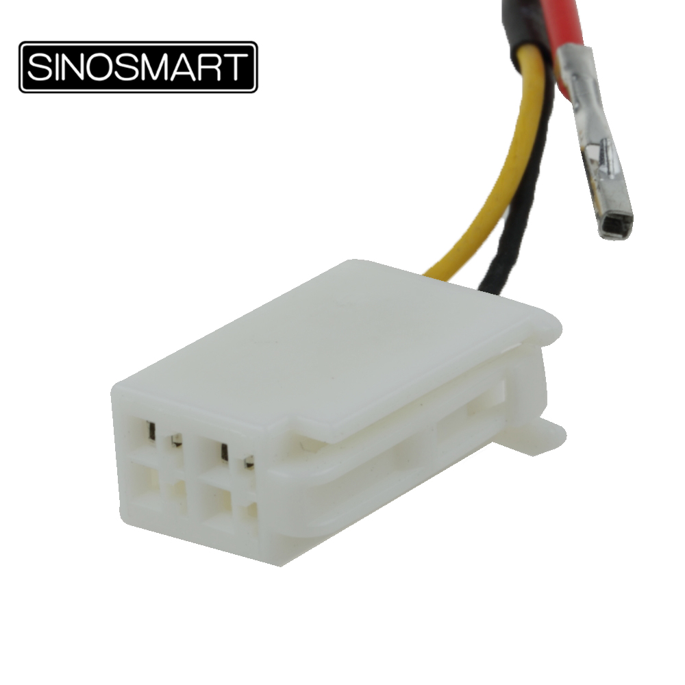 Sinosmart C4 Connection Cable For Mazda Cx 5 Reversing Camera To Oem Wiring Diagram Parkingcamerasukcom Monitor Without Damaging The Car In Vehicle From Automobiles