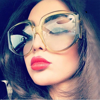 MirsiGlam Big Frame Glasses Frame Women Fashion Vintage style