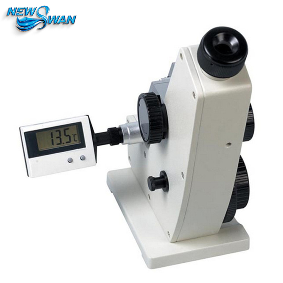 Refractometer 2WAJ Monochromatic Refractometer Digital Brix Refractometer Laboratory Optical Equipment 1pc ootdty 1pc rsg 100atc 0 32% brix