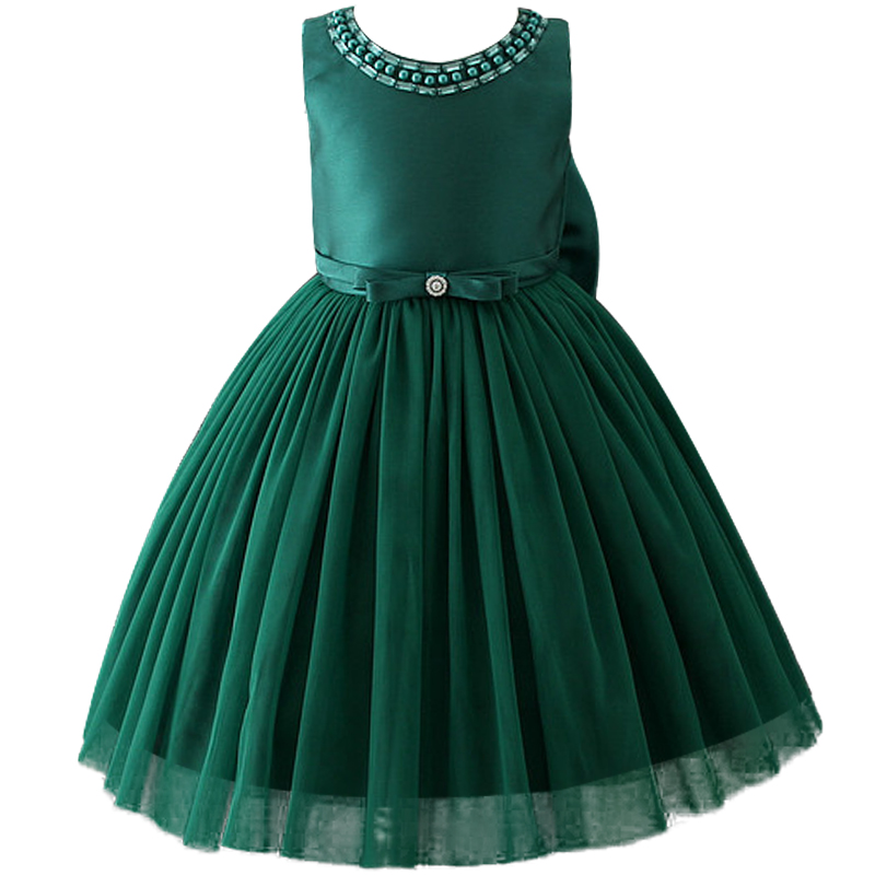 Upscale New Children Dresses For Girls Kids Formal Wear Princess Dress For Baby Girl 2-10Year Birthday Party Dress new summer pink children dresses for girls kids formal wear princess dress for baby girl 3 8 year birthday party dress