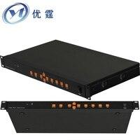 Video Wall Controller HDMI VGA AV USB Processor 2x3 Six Images Stitching Image Processor 6 TV