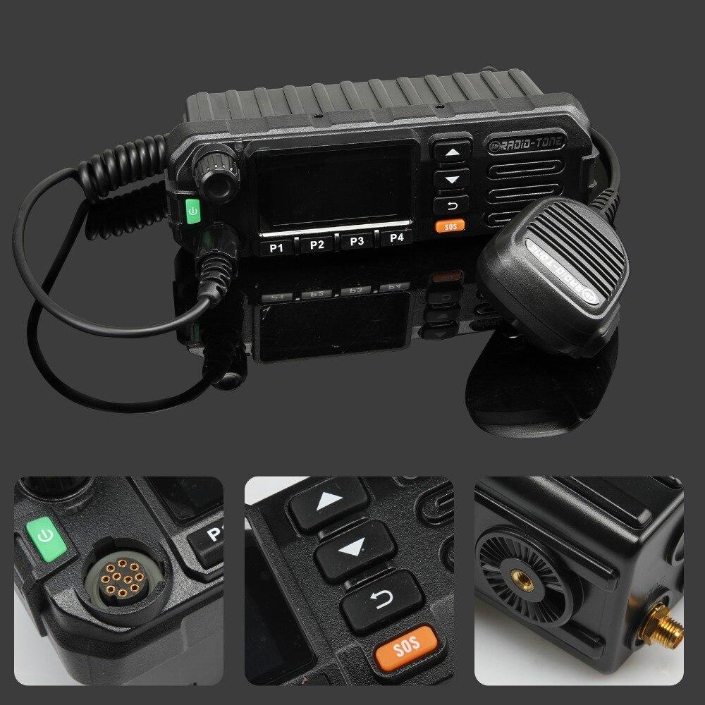 Radio Tone RT5 3G WiFi Network PTT Mobile C ar R adio Android Teamspeak Inrico TM