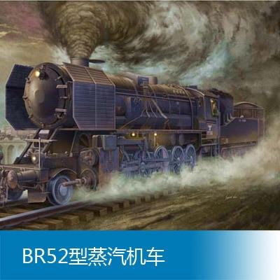 Modèle d'assemblage Trompette 1/35 BR52 locomotive à vapeur Jouets
