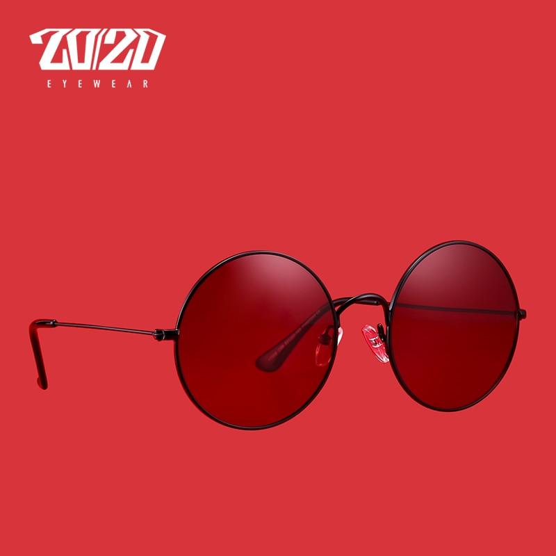 20/20 Brand New Unisex Sunglasses Men Polarized Women Vintage Round Metal Glasses Accessories Sun Glasses for Women 17008 1