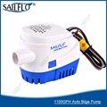 Бесплатная доставка Sailflo погружной лодка автоматический трюмный насос 12 В 1100GPH