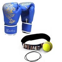 Boxing Gloves Kickboxing Speed Punching Ball PU Durable Gants De Boxe MMA Golves Muay Thai Sanda
