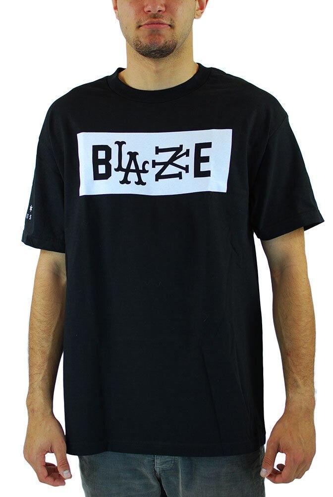 Лето 2018 новый известные звезды и Бретели для нижнего белья x Рок Смит Blaze Для мужчин футболка черный Трэвис Футболка Высокое качество Повсед... ...