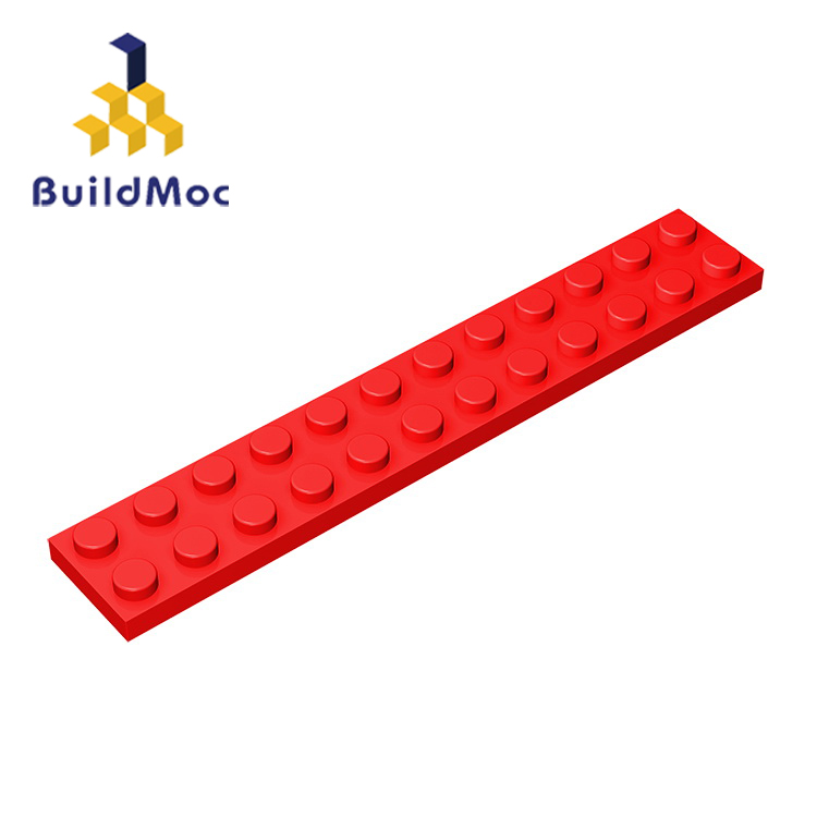 BuildMOC Compatible With Assembles Particles 2445 2x12 For Building Blocks Parts DIY LOGO Educational Creative Gift Toys